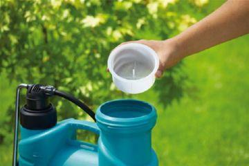 Заправка воды в опрыскиватель