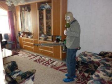 в квартире
