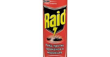 Спрей против тараканов