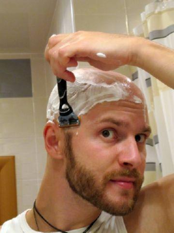 бритье волос от вшей